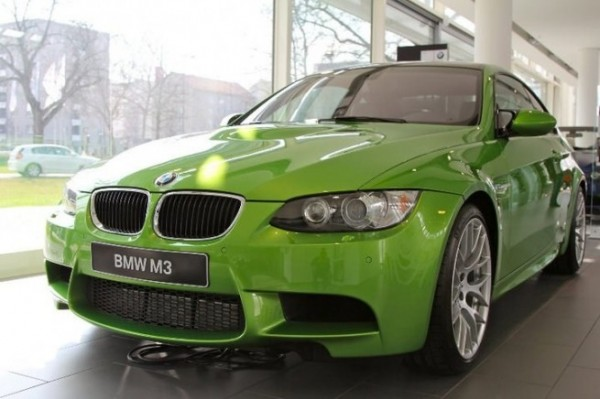 Вечно зеленый BMW: Java Green Metallic BMW E92 M3 по программе BMW Individual